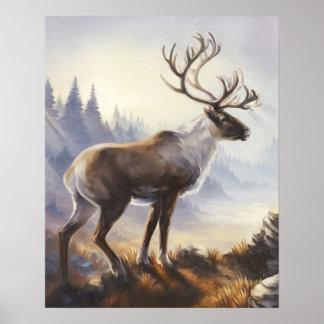 Caribou Print