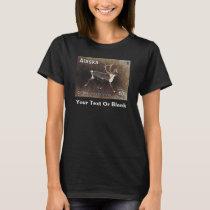 Caribou (Reindeer) - Alaska Postage T-Shirt