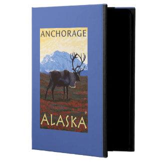 Caribou Scene - Anchorage, Alaska Cover For iPad Air