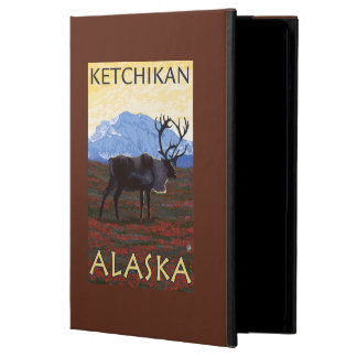 Caribou Scene - Ketchikan, Alaska Cover For iPad Air