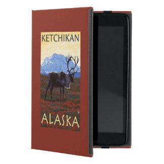 Caribou Scene - Ketchikan, Alaska Cover For iPad Mini