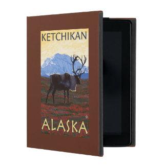 Caribou Scene - Ketchikan, Alaska iPad Case