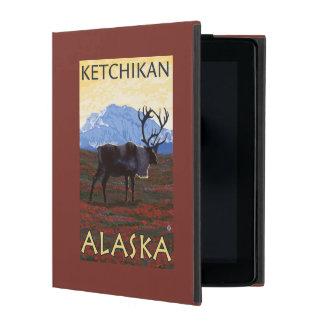 Caribou Scene - Ketchikan, Alaska iPad Cover