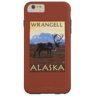 Caribou Scene - Wrangell, Alaska Tough iPhone 6 Plus Case