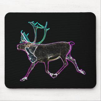 Caribú eléctrico mousepad