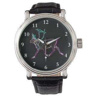 Caribú eléctrico relojes de mano