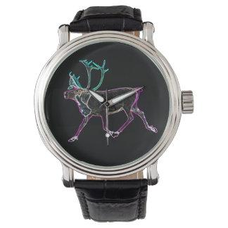Caribú eléctrico relojes de pulsera