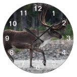 caribú reloj redondo grande