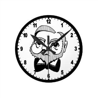 Caricatura Andrew Carnegie Reloj