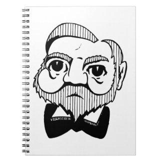 Caricatura Andrew Carnegie Note Book