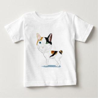Caricatura Bobtail japonesa Remera