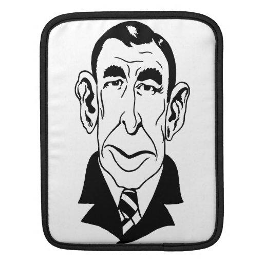 Caricatura Booth Tarkington Funda Para iPads
