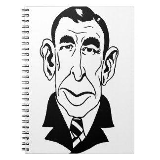 Caricatura Booth Tarkington Libretas Espirales