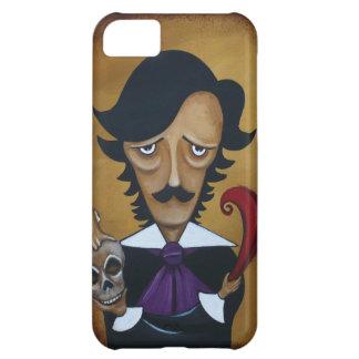 caricatura de Edgar Allan Poe del caso del iPhone  Funda Para iPhone 5C