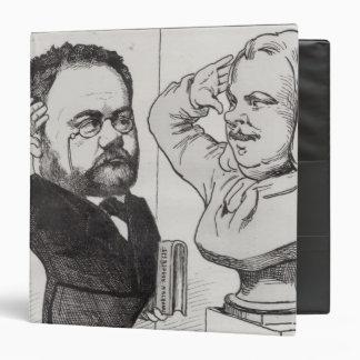 Caricatura de Emile Zola