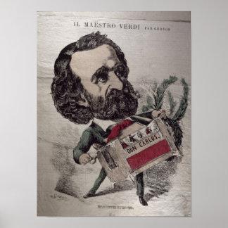 Caricatura de IL Maestro', del italiano Impresiones