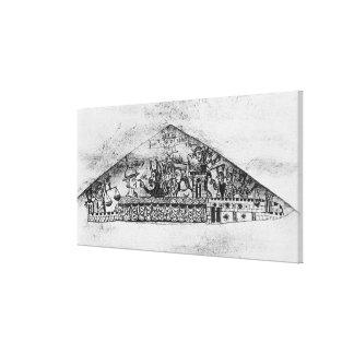 Caricatura de judíos ingleses, de un Haggadah Impresiones En Lienzo Estiradas
