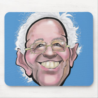 Caricatura de las chorreadoras de Bernie Mousepads