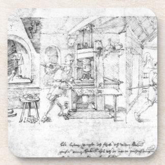 Caricatura de Lazarus Spengler de Albrecht Durer Posavaso