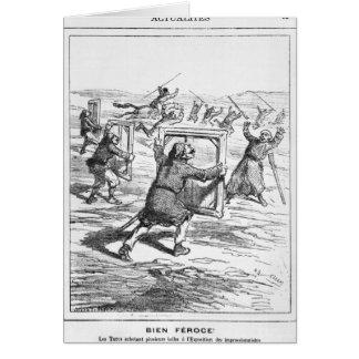 """Caricatura de """"Le Charivari' Tarjetas"""