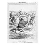 "Caricatura de ""Le Charivari' Tarjetas Postales"