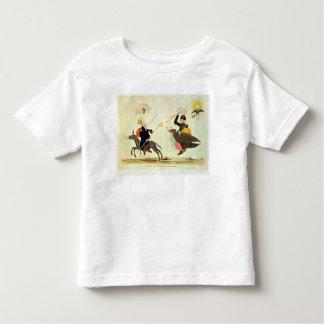 Caricatura de los 'cientos días camiseta