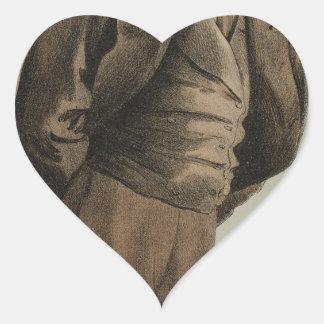 Caricatura de los estadistas No.1300 de Sr. Pegatina En Forma De Corazón