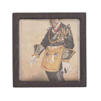 Caricatura de los estadistas No.370 de Thomas Cajas De Joyas De Calidad