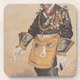 Caricatura de los estadistas No.370 de Thomas Posavasos