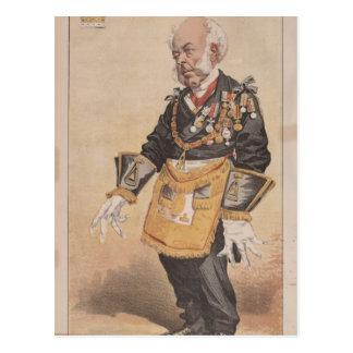 Caricatura de los estadistas No.370 de Thomas Postales