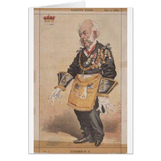 Caricatura de los estadistas No.370 de Thomas Tarjeta De Felicitación