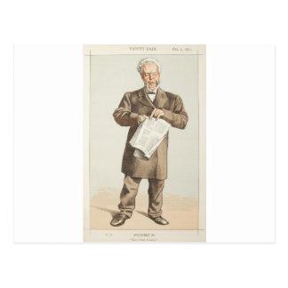 Caricatura de los estadistas No.940 del concejal Tarjetas Postales