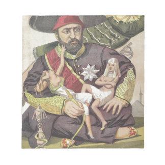 Caricatura de los Sovereigns No.50 del sultán Blocs