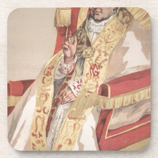 Caricatura de los Sovereigns No.60 de papa Pío IX Posavaso