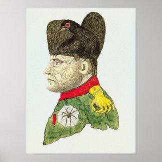 Caricatura de Napoleon Bonaparte Impresiones