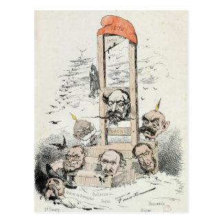 Caricatura de Napoleon III Otto Tarjetas Postales