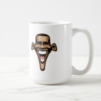 Caricatura de Obama Taza Básica Blanca