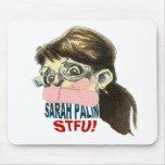 Caricatura de Sarah Palin Alfombrillas De Ratón