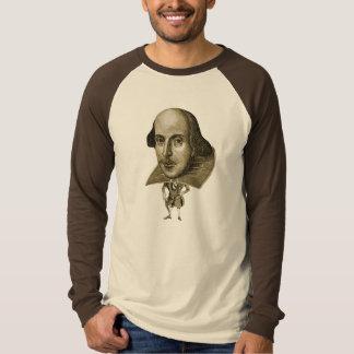 Caricatura de Shakespeare Playera