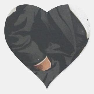 Caricatura de Sr. Lionel Lawson de James Tissot Pegatina En Forma De Corazón