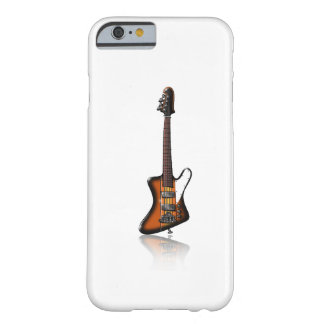 Caricatura eléctrica de la guitarra baja de funda para iPhone 6 barely there