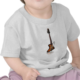 Caricatura eléctrica de la guitarra baja de Thunde Camiseta