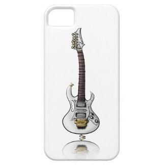 Caricatura eléctrica única de la guitarra de la iPhone 5 funda