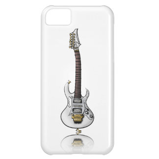 Caricatura eléctrica única de la guitarra de la ro funda para iPhone 5C