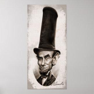 Caricatura honesta de Abe Impresiones