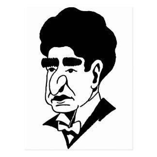 Caricatura José Lhevinne Postal
