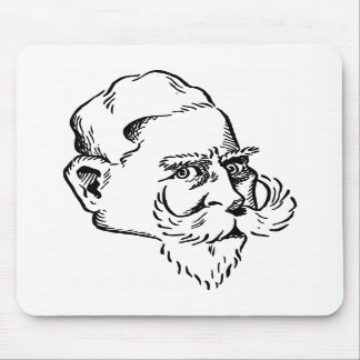Caricatura Kaiser Wilhelm Alfombrillas De Ratones