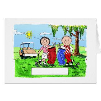 Caricatura personalizada del dibujo animado de los tarjeta de felicitación
