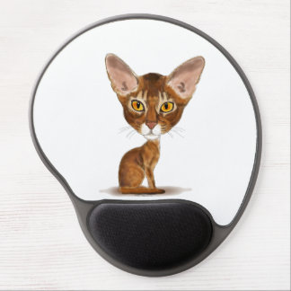 Caricature Aby Gel Mouse Mat