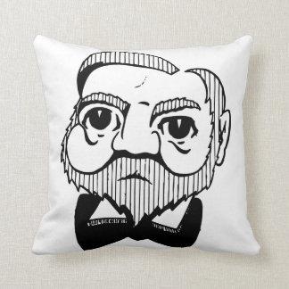 Caricature Andrew Carnegie Pillow